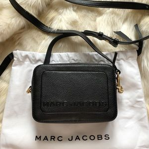 Marc Jacobs Box Leather Crossbody Bag
